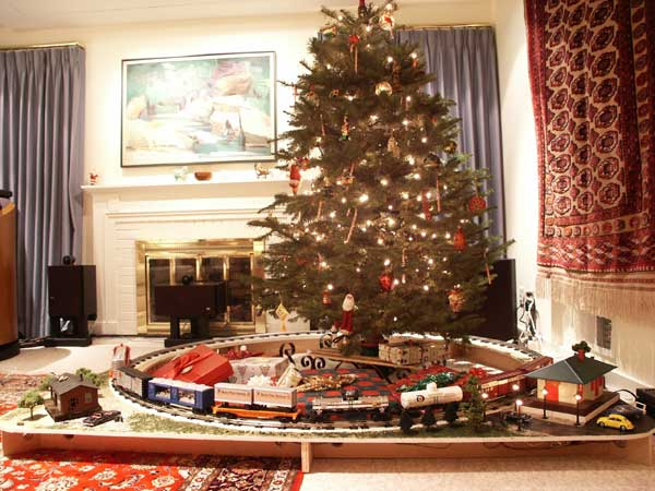 Train Track For Christmas Tree
