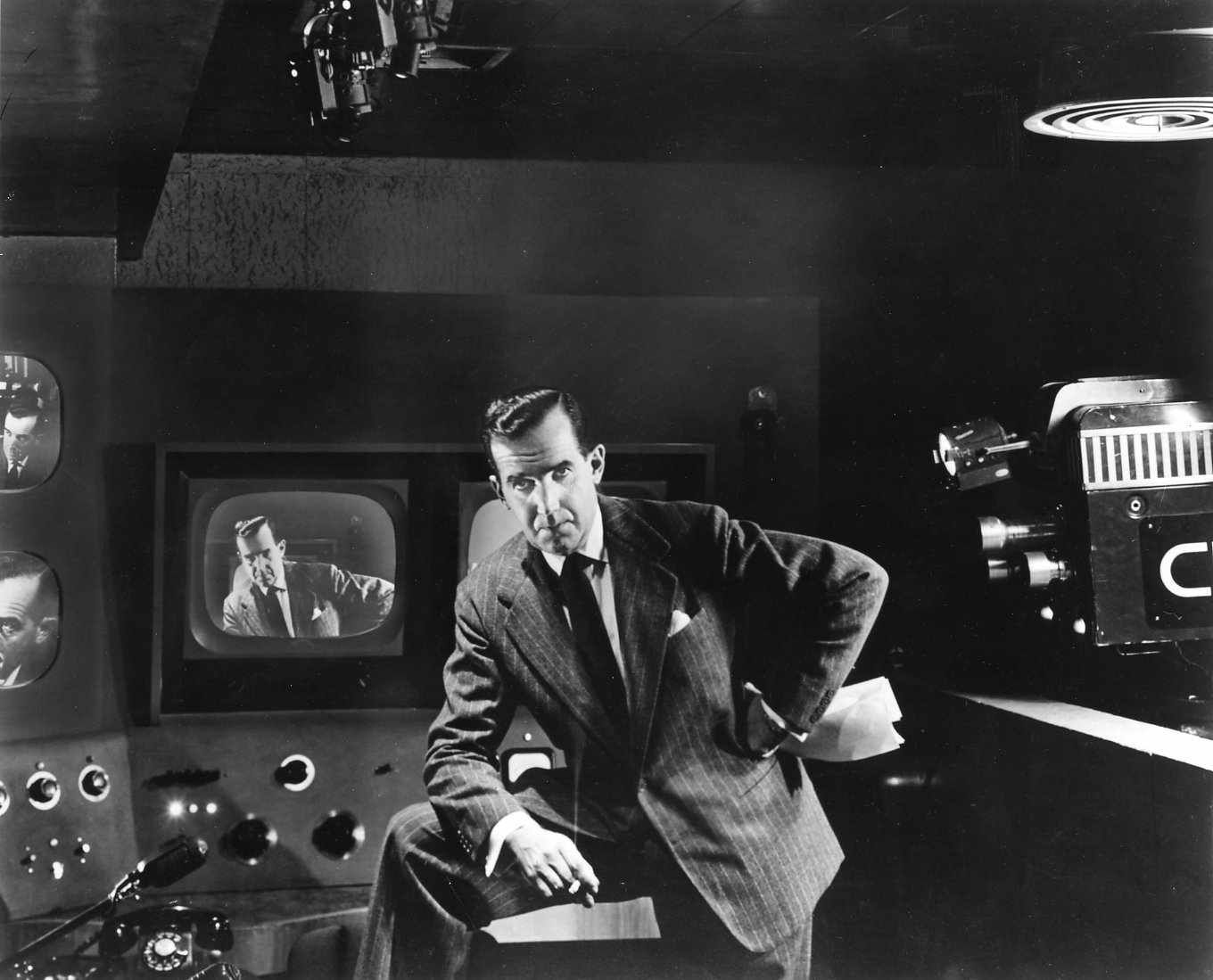 Image result for edward r. murrow on see it now