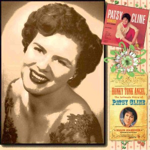 Patsy Cline was categorized as a country singer, but her soulful voice carried her to pop success as well. Unfortunately, she died at age 30. Uploaded by scrapbookflair.com.