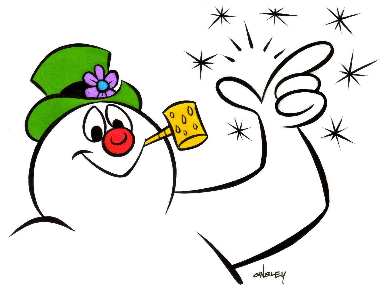 frosty the snowman tv special great american things rh greatamericanthings net frosty the snowman clipart free Frosty the Snowman Face Clip Art