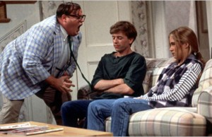 Chris Farley as motivational speaker Matt Foley on SNL