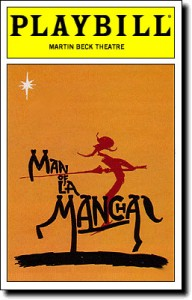 Man of La Mancha Playbill, www.greatamericanthings.net