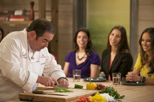 Emeril Lagasse, cooking for wedthemagazine