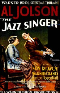 Poster for The Jazz Singer, www.greatamericanthings.net