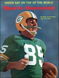 Max McGee caught two touchdown passes in Super Bowl I, www.greatamericanthings.net