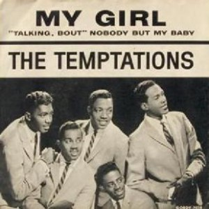 The Temptations, My Girl, www.greatamericanthings.net