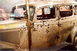 Bonnie and Clyde's car, www.greatamericanthings.net