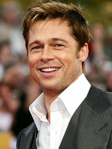Actor Brad Pitt, www.greatamericanthings.net