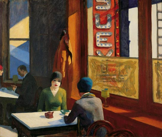 Chop Suey by Edward Hopper, www.greatamericanthings.net