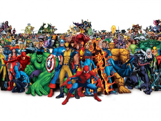 Marvel Comics Characters, www.greatamericanthings.net