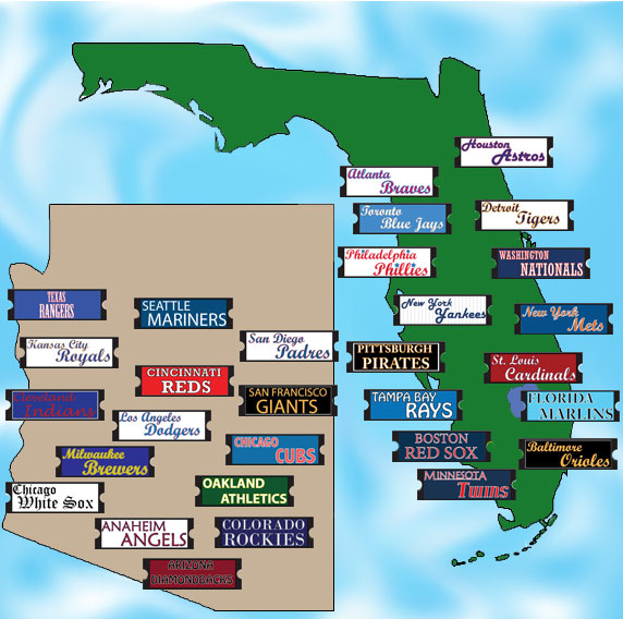 Mlb Spring Training Locations Florida Map.Spring Training Florida Locations Www Naturalrugs Store