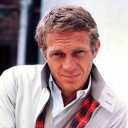 Actor Steve McQueen, www.greatamericanthings.net