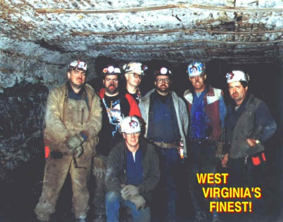 Coal miners, www.greatamericanthings.net