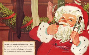Much of our cultural understanding of Santa comes from this 1823 poem. Uploaded by 5pts-interactive.com.