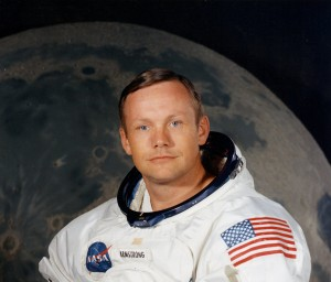 Neil Armstrong wasn't in the mode of the early astronauts - he was an engineer with a master's degree. Uploaded by newtimesmy.com.