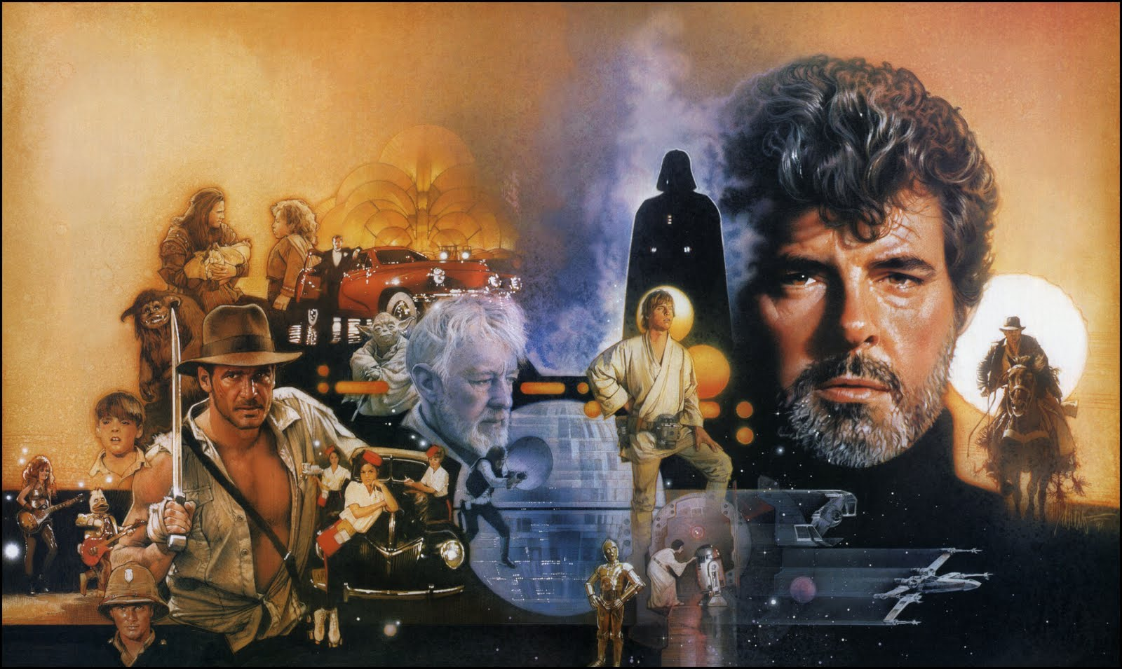 the life and career of the american filmmaker george lucas The $12,000 budget for the short came out of the still photography budget of the  rain people itself, and lucas scrapped his way to the 16mm.