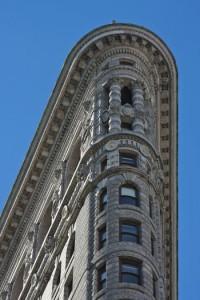 The Flatiron Building, a New York City architectural gem.
