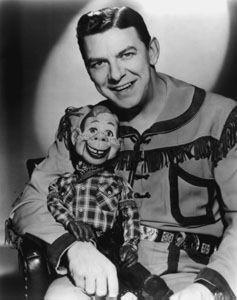Howdy Doody and Buffalo Bob Smith