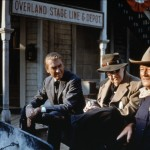 John Ford directs Jimmy Stewart and John Wayne, www.greatamericanthings.net