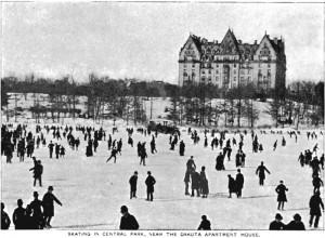 The Dakota Apartments, beside Central Park