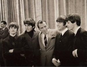 The Beatles with Ed Sullivan, www.greatamericanthings.net
