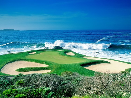 Pebble Beach Golf Course Www Greatamericanthings